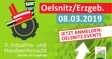 Newsbild 3rd industrial and craft night in Oelsnitz
